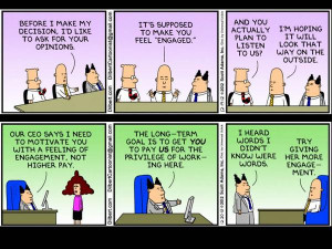 Dilbert Cartoon On Change Management