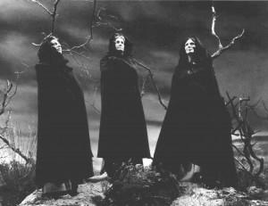 Michael Gwynn as King Duncan The Weird Sisters