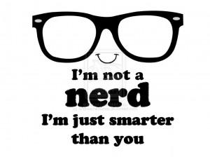 not a nerd. by andreachichizola