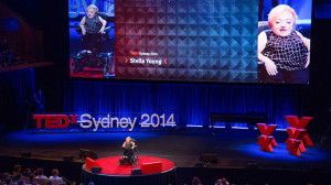 Stella Young speaks at TEDxSydney (YouTube/TEDxSydney)