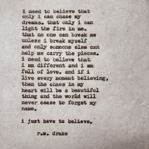 ... rmdrake Just believe I 39 m releasing my second book quot beautiful