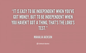 independent quotes