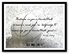 Basketball Quotes for my girls on Pinterest