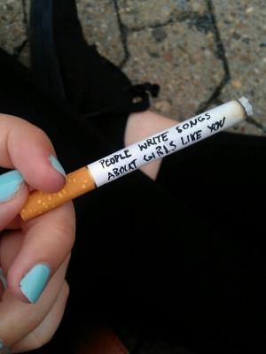 black, blue nails, boots, cigar, cigarette, girls, grunge, nails ...