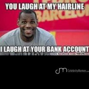 lol. #nba. #celebritymemes. #memes. #funny. #lebronjames. #hitlike. # ...