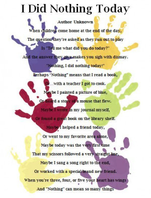 , Kindergarten Teacher Quotes, Daughters Kindergarten, Preschool Poem ...