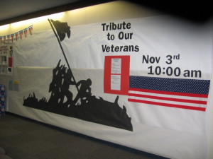 2007 Tribute to Our Veterans Bulletin Board