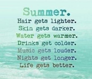 Summer Quotes, Sayings about summer season