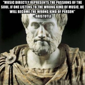 Music directly represents the passions of the soul. If one listens to ...