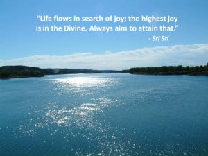 ... not knowing that the Self is the source of all joy