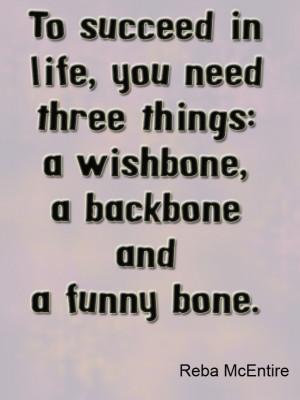 Reba McEntire Quotes Backbone