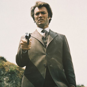Clint Eastwood as Insp. 'Dirty' Harry Callahan in Dirty Harry