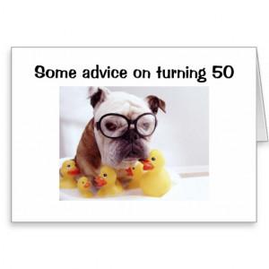 Birthday Cards Turning 50 Quotes