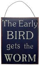 Early Bird Life Quote