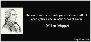 More William Whipple Quotes
