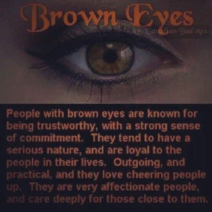 people with brown eyes
