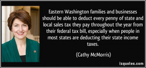 More Cathy McMorris Quotes