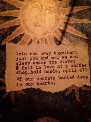 love quote hippie coffee stars peace runaway