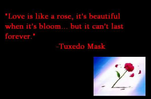 Tags: love quote tuxedo mask