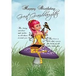 great_granddaughter_fairy_birthday_card.jpg?height=250&width=250 ...