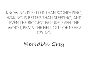 Meredith Grey Anatomy Quotes