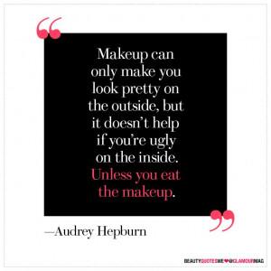 ... makeup.