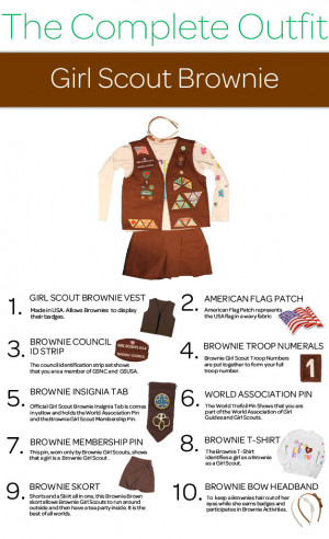brownie girl scouts pins