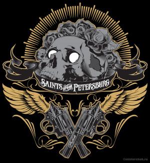 super hero design illustration United Riot Wear chicano gangster skull