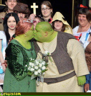 Real Life Shrek Wedding