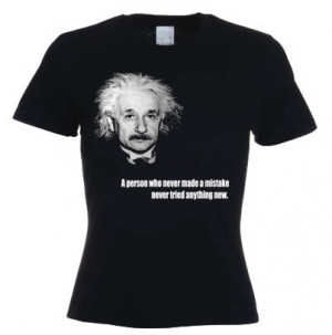Quotes Albert Einstein Mistake
