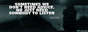 Home » Words / Quotes » Alone girl quotes facebook cover