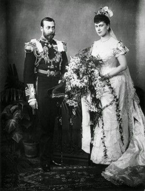 ... king george v and mary of teck to quote like the earlier royal bride