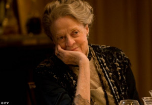 Always the Lady: Dame Maggie Smith, seen as Dowager Duchess Lady ...