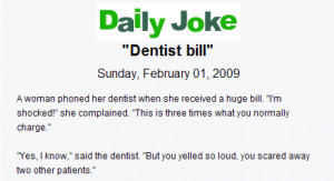 In the Entertainment section of 50Plus you'll find Daily Jokes that ...