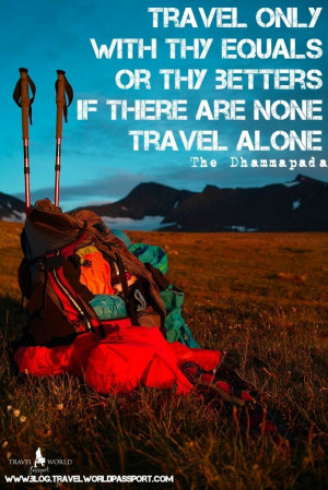 Quotes for all those who love to travel solo