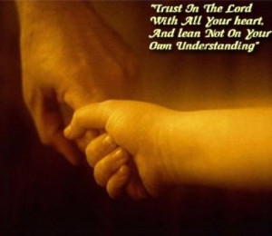 If you hold to Jesus as He holds your baby...through Him you'll be ...