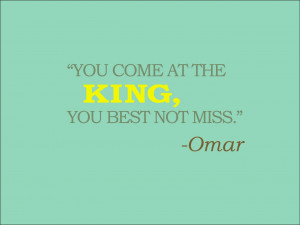 Omar The Wire Quotes Omar from the wire [1365x1024]