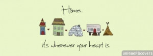 Quotes Covers Facebook Covers: Home Quotes About Life
