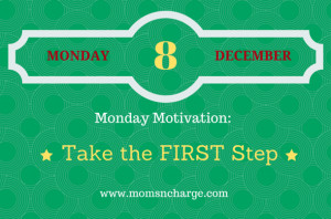 Motivational quote - take the first step 12.8.14