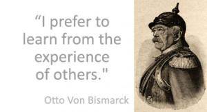 Bismarck quote
