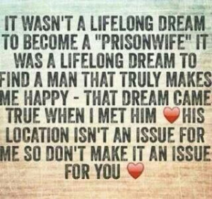 never imagined I would fall in love with someone in prison... It ...