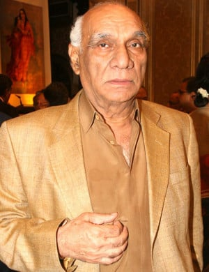 Bollywood stars visit Yash Chopra