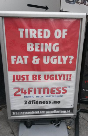 Ugly Quotes Funnyvooz Tired Being Fat And Funny