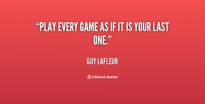Play Your Game Quote