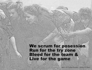 Rugby Quotes For Girls Womens rugby, we scrum for