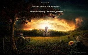 Christian Church HD Bible Verse Wallpaper