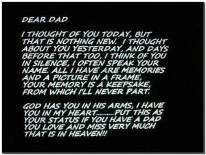 Posts related to happy birthday dad rip quotes