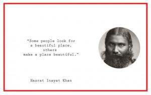 Hazrat Inayat Khan quote