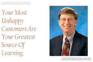 The Really Inspirational Quote On Business Said By Bill Gates, That ...