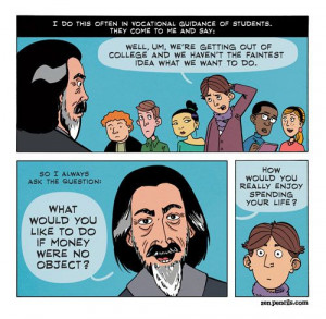 Alan Watts - the comic strip